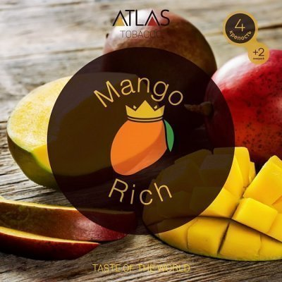 Табак Atlas Mango Rich 100гр